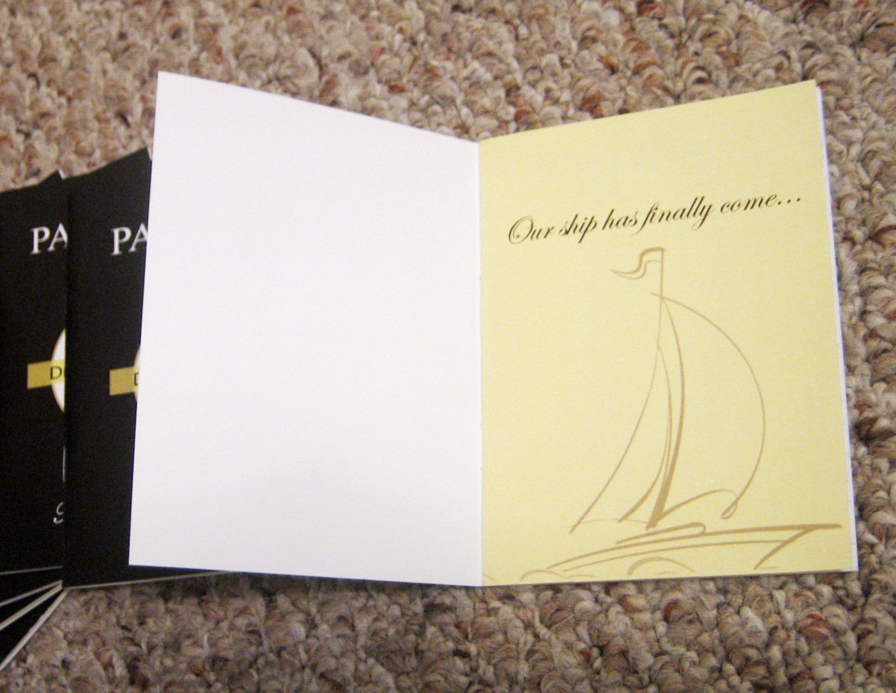 Wedding invitation – Designs by De\'Awn