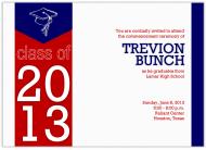 Modern simple graduation announcement