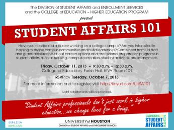 Campus event poster design
