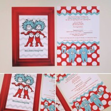 Dr. Suess theme baby shower